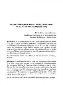 Aspectos burgaleses MCE 2